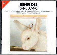 HENRI DÈS - L'ÂNE BLANC (CD)