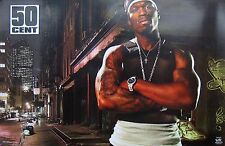 50 CENT GET RICH OR DIE TRYING  POSTER 2003 FUNKY #6587 34x22 NEW FREE FAST SHIP