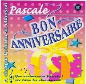 Bon anniversaire Pascale