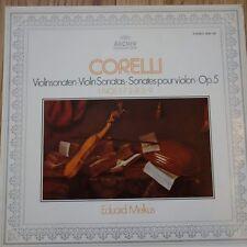 2533 132/33 Corelli Violin Sonatas / Eduard Melkus 2 LP set