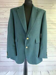 ORVIS Menswear | Orvis Jacket Men 42R | Orvis Blazer | Green Vintage Made in USA