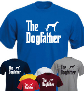 The Dogfather Greyhound Funny Gift Present T-shirt