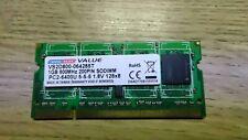 Dane-Elec 1GB DDR2 RAM SO-DIMM (200 pin) pc2-6400U 5-5-5 1.8V