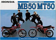 HONDA Brochure MB50 MB5 MT50 MT5 1979 1980 Sales Catalog Catalogue REPRO