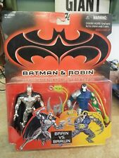 Batman and Robin Brain Vs Brawn Batman/ Bane Action Figure Kenner 1997 No. 63877