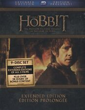 THE HOBBIT THE MOTION PICTURE TRILOGY COLLECTION EXTENDED EDITION BLURAY BOX SET