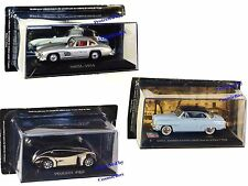 Prize of 3 model Cars MERCEDES 300SL PEUGEOT 4002 1989 SIMCA collectibles