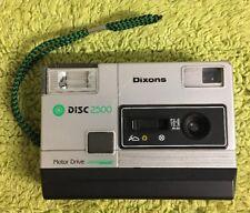 Vintage Disc camera Dixons 2500 - See Description
