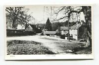 Emery Down, New Forest - road, houses, bus - c1960's real photo postcard
