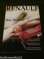 RENAULT #159 - NEW MEGANE - SUMMER 2002