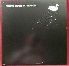 WHITE DUCK-IN SEASON-Scarce 1972 Psych Rock DJ Album w/JOHN HIATT-UNI #7-3140 NM