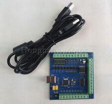 CNC MACH 3 USB 4 ASSI 100KHz LISCIO Stepper Scheda controller di movimento breakout board