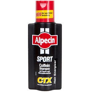 ALPECIN CTX SPORT Coffein Shampoo 250 ml mit Taurin und Mikronährstoffen