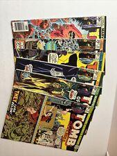 Tomb Of Darkness Lot #9, 11, 13, 15, 16, 23 Marvel Comics 1974-1976 VF/VF+ Avg