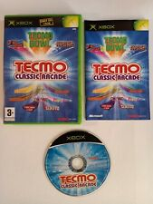 Tecmo Classic Arcade XBOX Original Spiel mit Handbuch