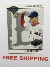 2008 Topps Co-Signers  RC Baseball Card #61 Clay Buchholz MLB Boston Red Sox