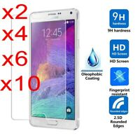 For Samsung Galaxy S7/S6/S5/S4 Screen Protector Tempered Glass Cover Film SL