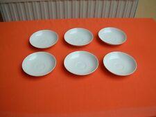 KPM Berlin Urbino Trude Petri 6 Stück Untertassen Unterteller
