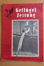 Deutsche Geflügelzeitung Heft 18 Jahr 1952 Wyandotter Brut Aufzucht Fasane