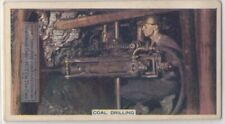 Coal Drill Mining Machine 80+ Y/O Trade Ad Card