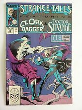 Marvel - Strange Tales Cloak Dagger Doctor Strange June 1988 No. 15