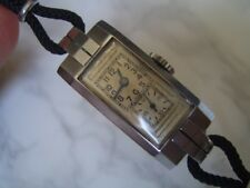 EXTREMELY RARE 1930'S LONGINES DUAL DIAL DOCTOR NURSE'S LADIES WATCH       *6659