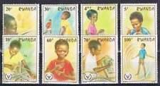 Rwanda postfris 1981 MNH 1143-1150 - Jaar van Gehandicapten (p289)