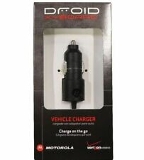 Verizon Micro USB 8W Car Vehicle Travel Charger MOTVPCMIC8, Black