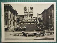1944 Blick Von ROM Aufdruck ~ Die Treppe Der Piazza Di Spagna