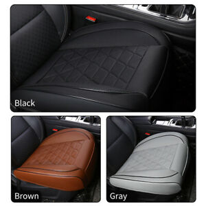 Automotive Car Front Single Seat Cover Cushion 3D Skin Feel Leather Breathable