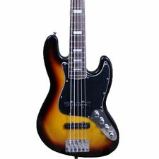 5 Strings Electric Bass Guitar Neck Binding JB Style Solid Basswood Body