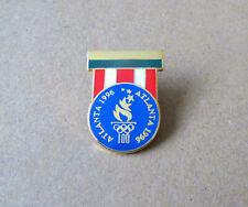 Medal style Torch mark pin -  Atlanta Centennial Summer Olympics