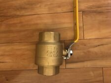 2.5 inch brass ball valve