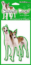 Greyhound & Whippet Gift - 2 x Delightful Car Air freshener for dog lovers