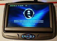 Invision DVD Headrest Monitor DSLM7AA1 factory oem slimline 7 SL7 rear system A