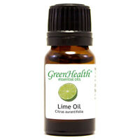 10 ml Lime Essential Oil (100% Pure & Natural) - GreenHealth