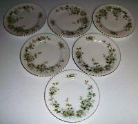 Franconia Krautheim Hawthorn Set Of 6 Salad Plates