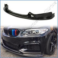 3D Look Carbon Fiber Front Lip For 2014 On F22 F23 220i 228i 235i M-Tech Bumper