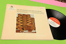 LP MUSIC FROM RWANDA ORIG GERMANY '70 NM CON LIBRETTO ! TOP AFRICAN MUSIC
