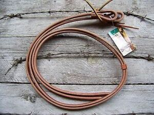 Reins - Pony Harness Leather Water Loop (1/2 Inch) by Schutz Brothers