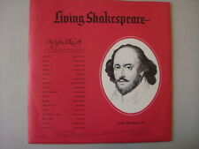 "Living Shakespeare, SY-13/14 ""AS YOU LIKE IT"" Vintage 1962 LP COLLECTIBLE"