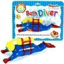 Pataugeoire temps fun scuba wind up water diver tout-petit jouets excellence