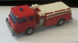 Matchbox Superfast 29 Fire Engine