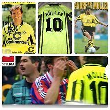 Nike Premier VTG Borussia Dortmund #10 Moller Jersey 95-96 Soccer Jersey Large