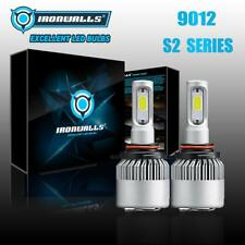 2x 9012 LED Headlight Bulbs 6000K for Chrysler 200 300 2011-2015 High Low Beam
