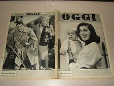 OGGI=1955/50=GEORGES SIMENON=LANDO DEGOLI=ROMINA POWER=LOUIS LACHENAL=PIERANGELI
