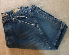 Industrial Exchange Mens Denim Shorts NWT Size 32 100% Cotton Blue