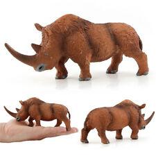 monde préhistorique-Laineux-Rhinocéros-Qualité De Construction... Safari Ltd