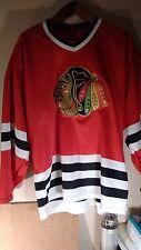 Authentic CCM Chicago Blackhawks Pro Jersey sz XL 90's? Excellent Freeship