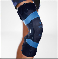 NEW Bauerfeind Softec OA Hinged Knee Brace BLACK Ret. Over $1000 ~ Size 4 RIGHT